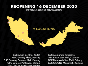 GSC Reopening on 16 Dec 2020