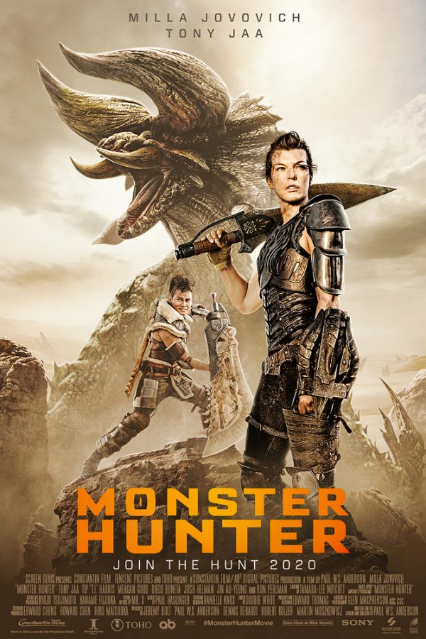 Monster Hunter poster – movieMotion
